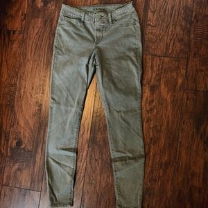 Maurice's olive jeggings
